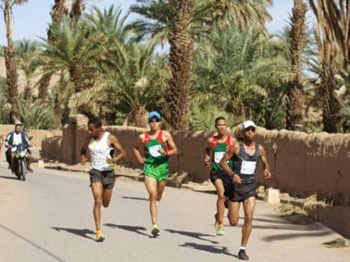 تازارين : وليد اوالطلبة و أميرة بغدي يحرزان لقب سباق الواحة