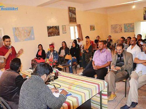 تنغير: حفل توقيع كتاب «في نقد الحركة الاسلامية المعاصرة»