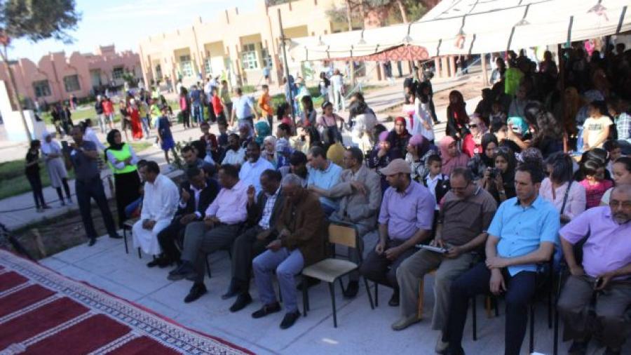 ثانوية عبد الرحيم بوعبيد الإعدادية بورزازات تنظم الأيام الثقافية الثالثة