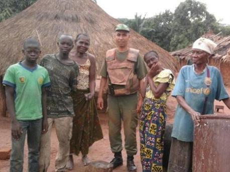 تازارين: تشييع جنازة الجندي مبارك عزيز الذي قتل بإفريقيا الوسطى