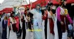 بالصور .. حسناوات صينيات يخلقن الحدث في مهرجان الورود وتتويج سكينة المقدمي ملكة للجمال