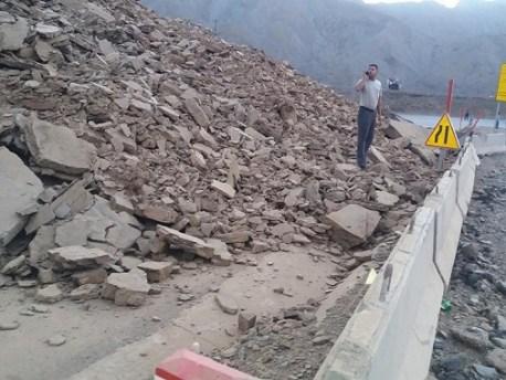 الانهيارات لازالت تعيق اشغال تهيئة تيشكا