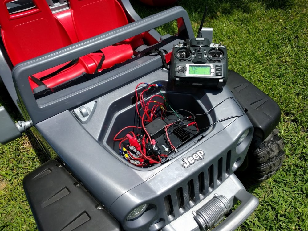 medium resolution of a smarter jeep hurricane rc power wheel dad in a smart home