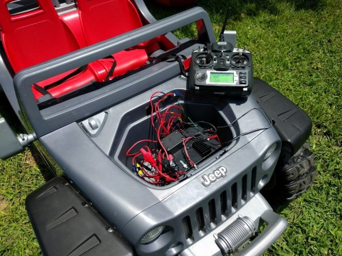 small resolution of a smarter jeep hurricane rc power wheel dad in a smart home