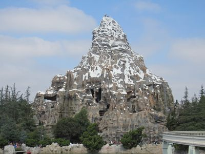 Disneyland's landmark matterhorn mountain is the home of the matterhorn bobsleds attraction — take a thrilling roller coaster ride up, down, and through. New Seats On The Disneyland Matterhorn Dad Logic