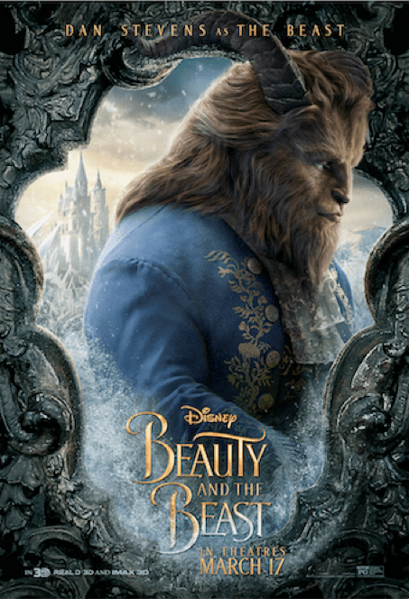 Here is your first look at the character posters, as well as the motion posters for Disney's Beauty and the Beast.