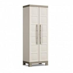 keter armoire range balais excellence 65 x 45 x 182h kis sable