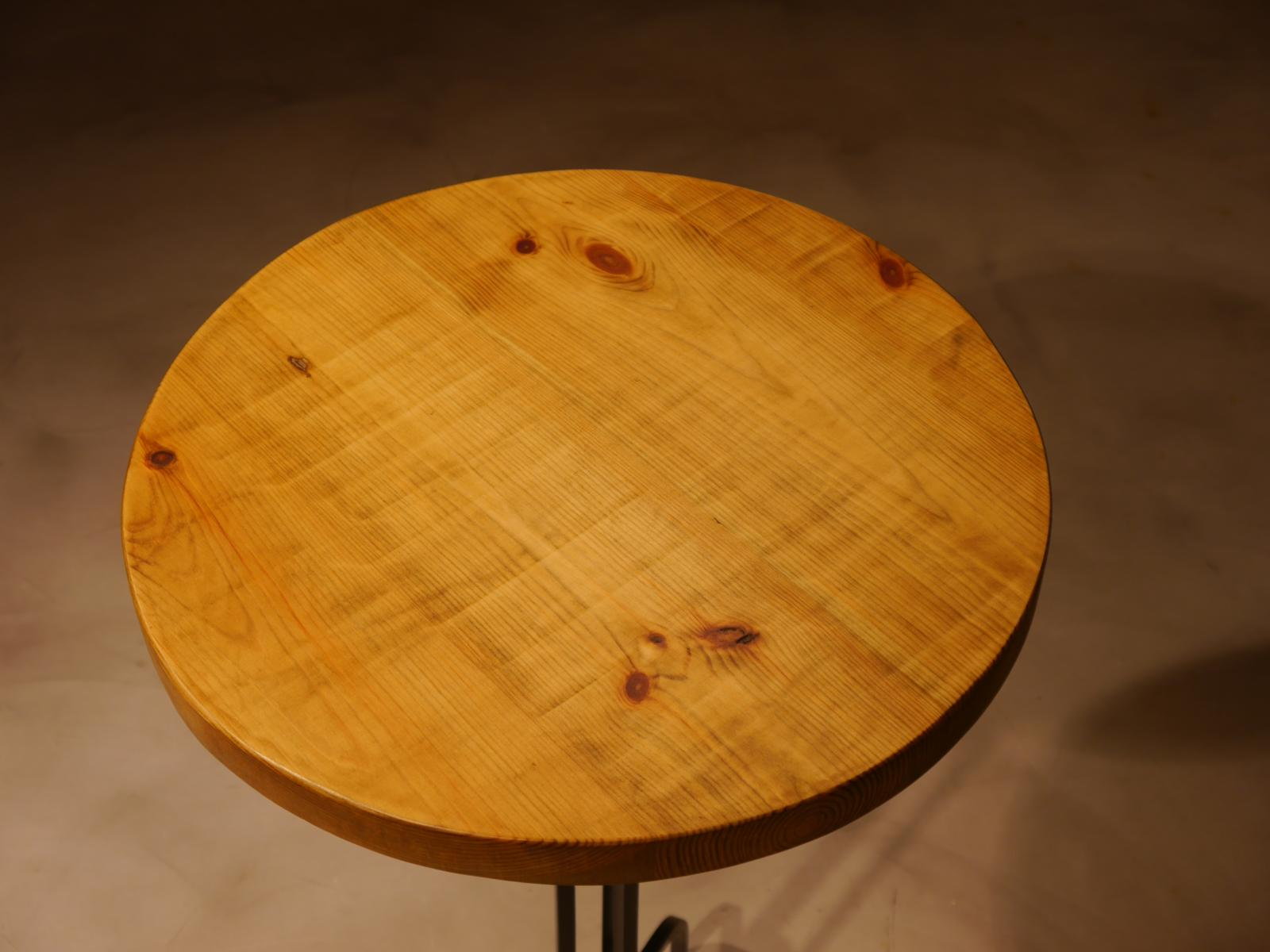 Sobre de madera de pino viejo de D-45cm
