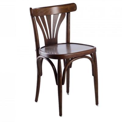 Silla 7704 asiento tablero acabado nogal