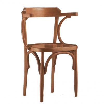 Silla 7111 con asiento tablero acabado roble