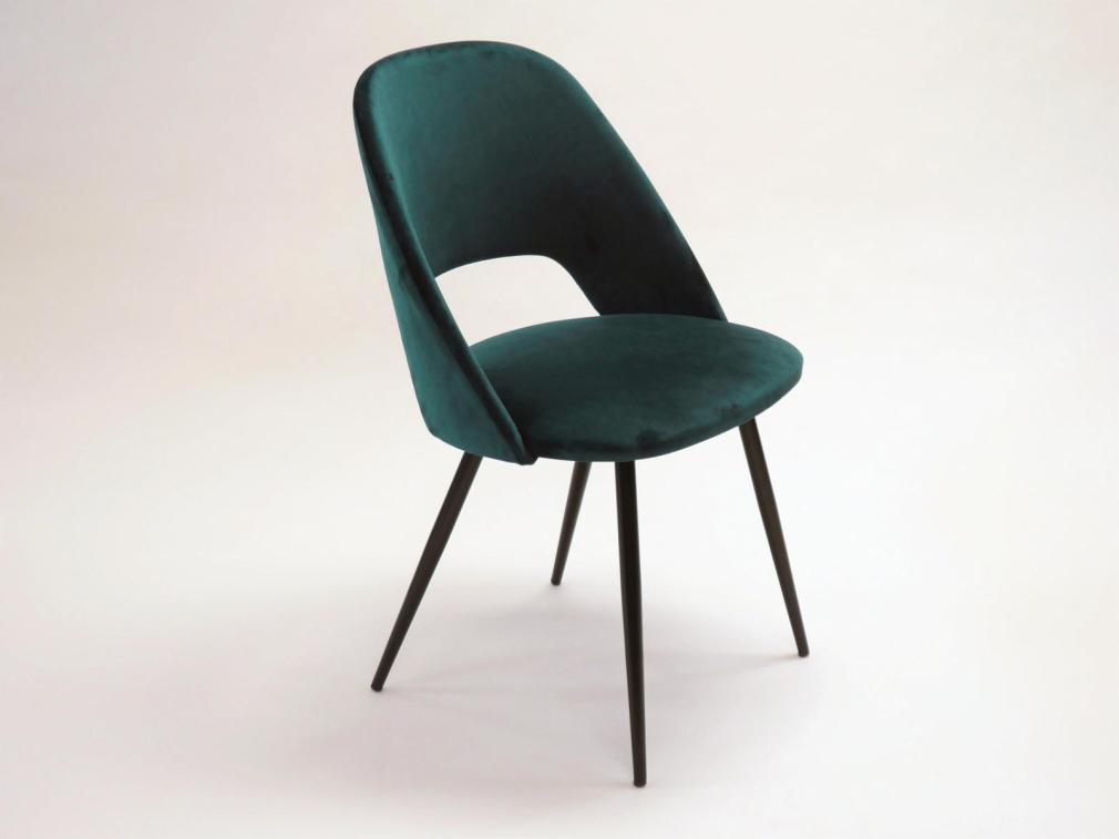 Silla binoche asiento y respaldo tapizado