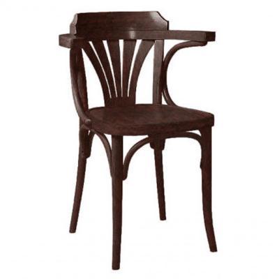 Silla 7110 asiento tablero acabado nogal