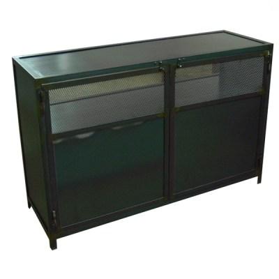 Mueble tv Vielha hoierro natural barnizado H-80 120x40