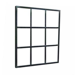 Espejo Nine hierro barnizado 100x80