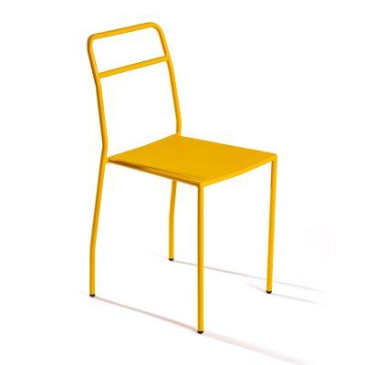Silla Betta asiento plancha