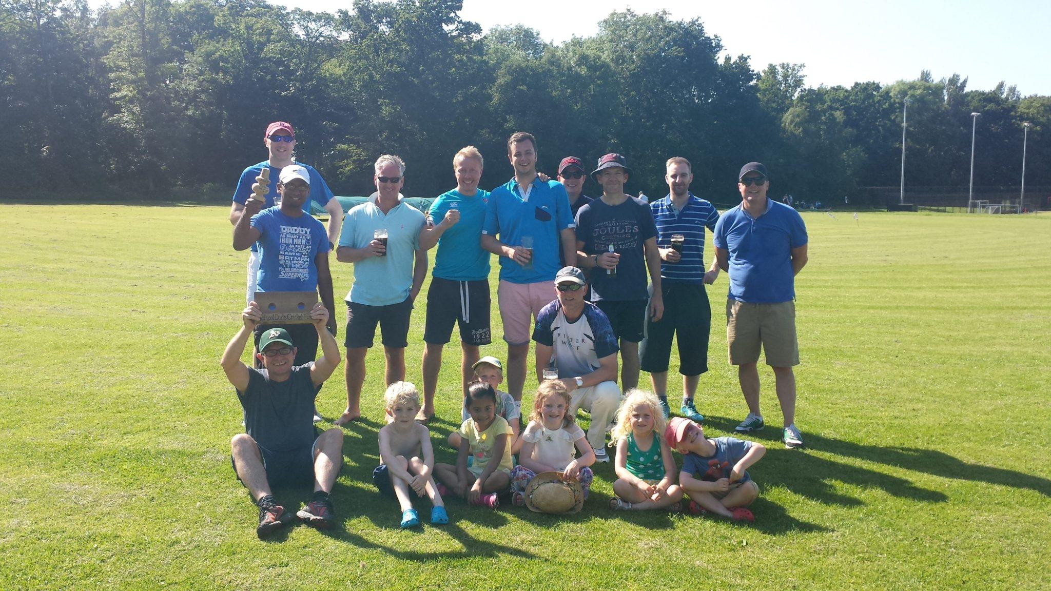 DADSVDADS Winning Team Photo Berkswell @DADSVDADS.COM
