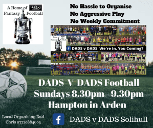DADS v DADS Football Solihull