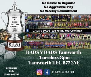 Play Football Tamworth Tuesdays