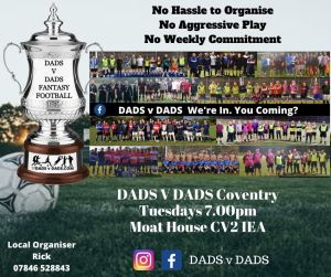 Play Football Coventry 7pm Tuesday Moat House