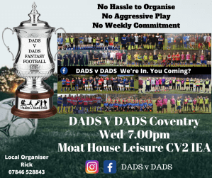 Play Football Coventry Wednesday