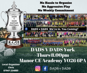 Play Football York Thurs 8pm