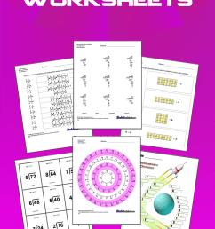 Division Worksheets [ 2205 x 735 Pixel ]
