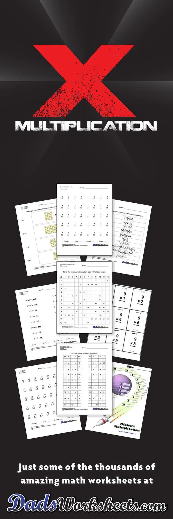 medium resolution of Multiplication Worksheets