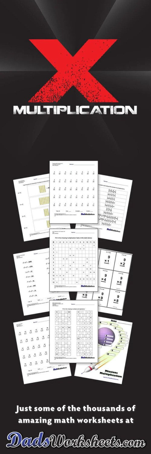 small resolution of Multiplication Worksheets
