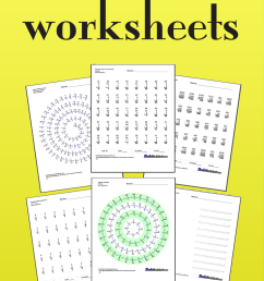 Subtraction Worksheets [ 2205 x 735 Pixel ]