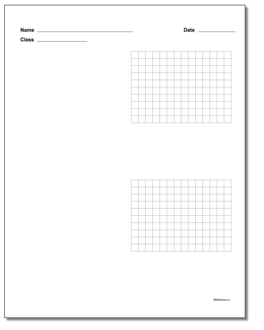 10X10 COORDINATE GRID 1ST QUADRANT - Auto Electrical ...