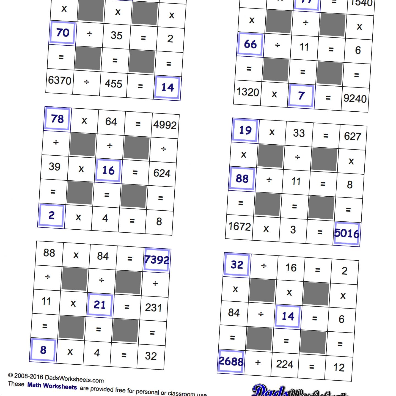 Easy Logic Grid Puzzle Worksheets | Printable Worksheets and