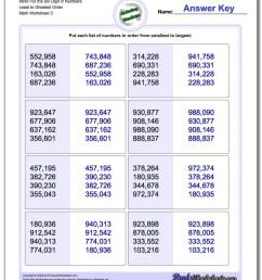 Kindergarten Math Ascending Order Worksheets - Preschool Worksheet Gallery [ 1100 x 880 Pixel ]