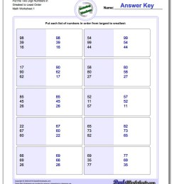 Kindergarten Math Ascending Order Worksheets - Preschool Worksheet Gallery [ 1100 x 880 Pixel ]