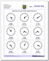 Five Minute Intervals