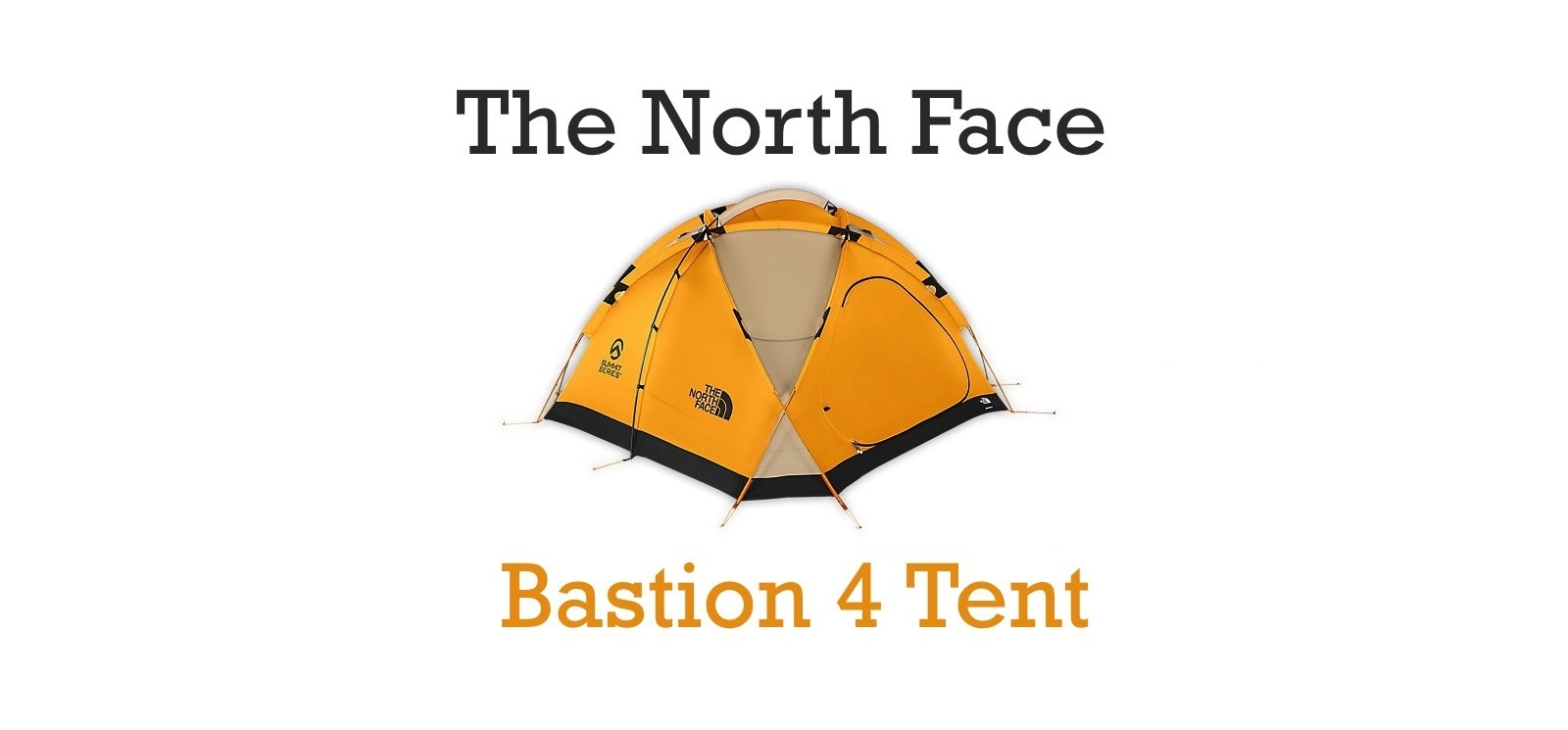The North Face Bastion 4 Tent