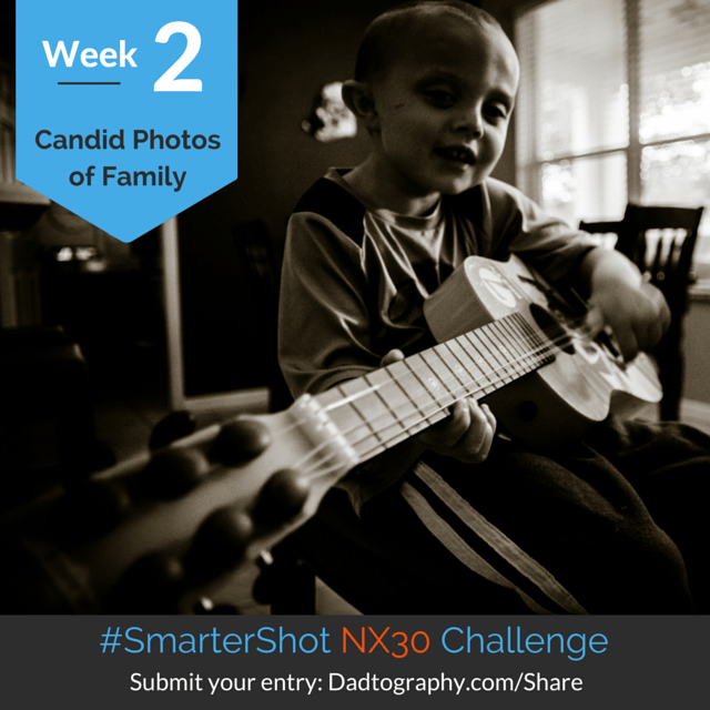 Week 2 Challenge: Candid Photos of Family