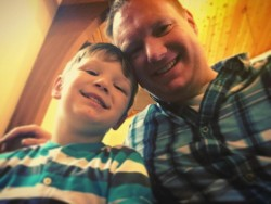 Parker and Daddy