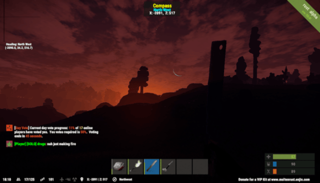 Rust: A Game About Not Dying