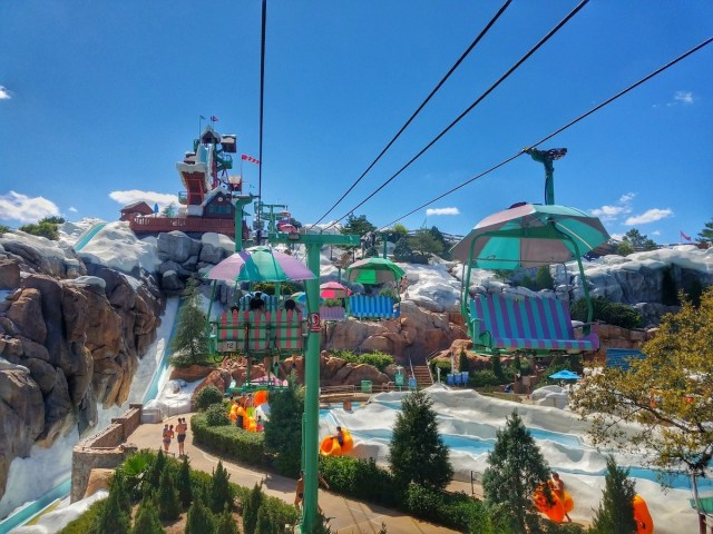 Blizzard Beach Chair Lift