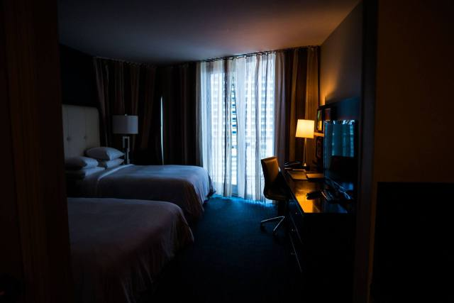 Dark Room - Hilton Ft. Lauderdale Beach Resort