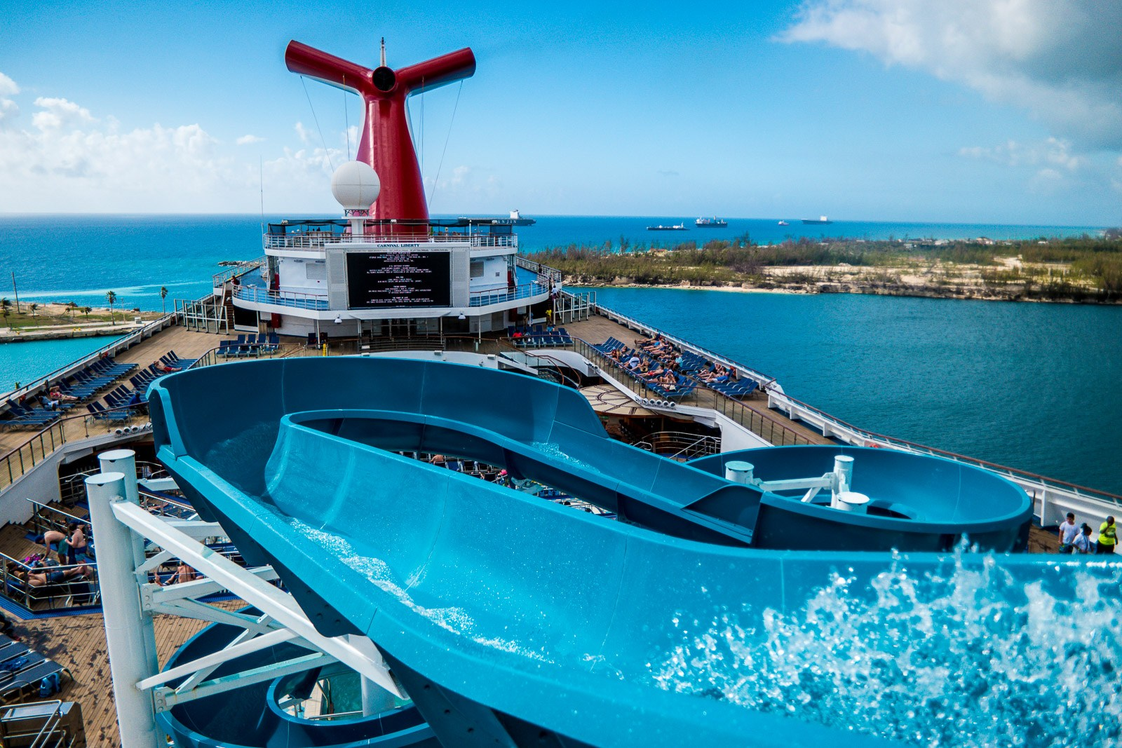 Carnival Liberty Review Port Canaveral Fl To The