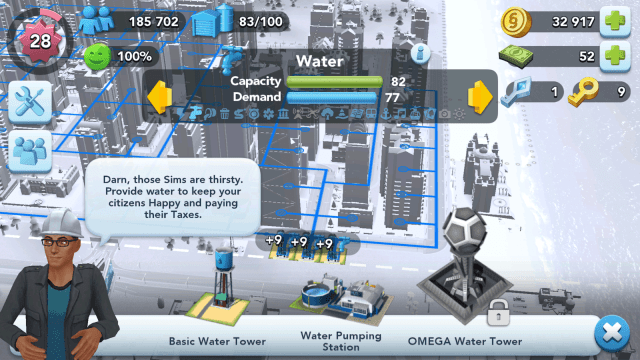 SimCity BuildIt Water Buildings