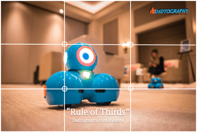 Rule of Thirds - Dash STEM Robot