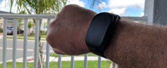 Healbe GoBe2 Review - Product Photo Unedited - On My Wrist