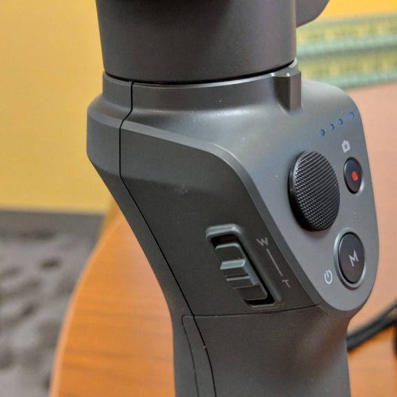 DJI Osmo Mobile 2 controls and buttons