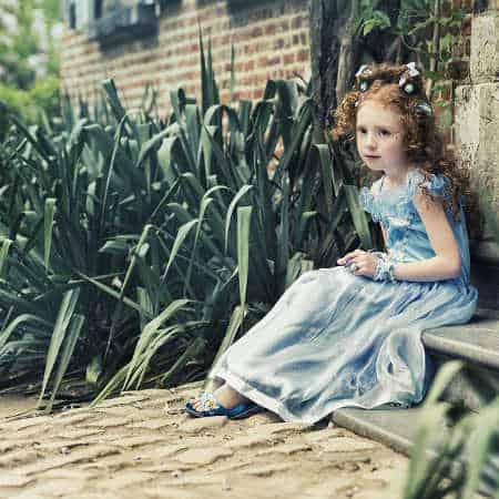 Dziewczynka w sukience balowej Souza!