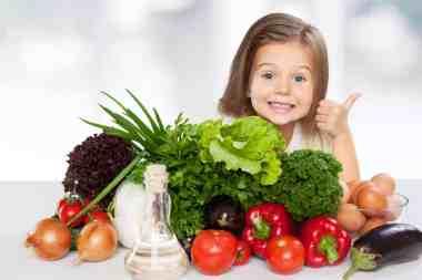 Kids like vegetables