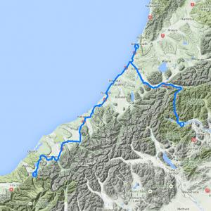 Day 13 - De Greymouth à Franz Ferdinand, en passant par Arthur's Pass
