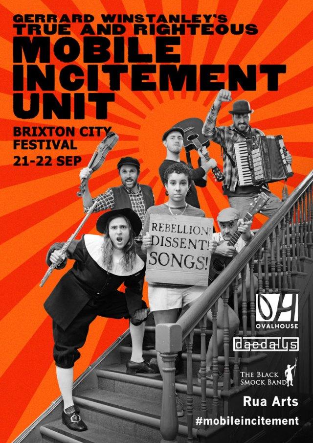 Mobile Incitement at Brixton City Fest 21-22 Sep 2017