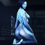 [SFM] Cortana ( Halo ) assembly – 3D – Sin Censura – Mega – Mediafire
